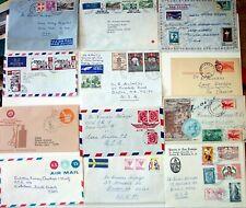 31 Covers Stamps Lot - World To Boston, South Dakota, Regensburg
