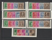 US,859-893,1940 FAMOUS AMERICANS,MNH F-VF, COLLECTION MINT NH,OG