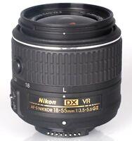 NIKON AF-S DX 18-55mm VR II LENS For D3300 D5200 D5300 D7200 D7100 - White Box