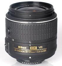 NIKON AF-S DX 18-55mm VR II LENS For D3300 D5200 D5300 D7200 D7100 - White Box