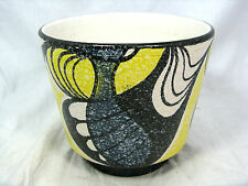 Beautiful late 50´s design Schloßberg Keramik Blumen Übertopf # flowerpot