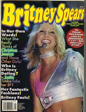 BRITNEY SPEARS HUGE POSTER SIZE PINUP Magazine 2000