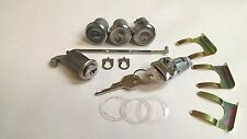 1962 1963 1964 Chevy Nova Lock Cylinder Set Ignition Door Trunk Glove Box Keys