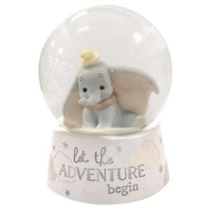 NEW Disney Magical Beginnings Dumbo Snowglobe - Baby Gift - Snow Globe
