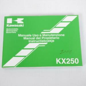 Manuel du propriétaire utilisateur origine Motorrad Kawasaki 250 KX 99976-1390 /