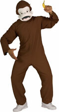 Morris Costumes Curious George Adult Std. RU888026