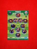 Carte card Panini ADRENALYN XL UEFA Euro 2020 n°189 TEAM FRANCE