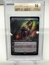 MTG Magic The Gathering Ultimate Masters Box Topper Liliana of the Veil BGS 10!