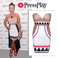 Sequin Short Geometric Dresses for Women
