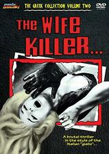 THE WIFE KILLER Mondo Macabro SLEAZY GIALLO HORROR Exploitation DEATH KISS UNCUT