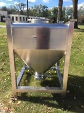 ALLIANCE 500 LITER STAINLESS STEEL BIN GREAT CONDITION PHARMACEUTICAL / FOOD