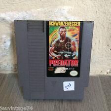 Predator Nes US Nintendo en loose NES-PL-USA NTSC Tested