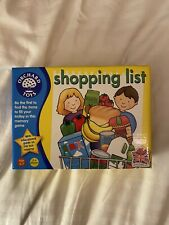 Kids Orchard Toys Shopping List Educational Game Age 3-7 Excellent Condition