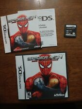 *Complete* Spiderman Web of Shadows Ds (2006) Tested