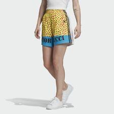 Adidas FL4152 Women originals Fiorucci Graphic shorts white
