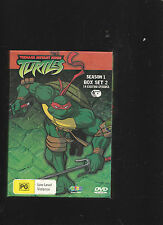 TMNT Teenage Mutant Ninja turtles Animated Season 1 Boxed Set Two 4 DVD's 14 Epi