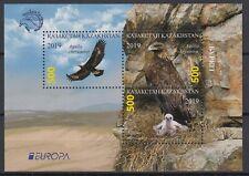 Kazakhstan. 2019 EUROPA CEPT NATIONAL BIRDS .Block MNH