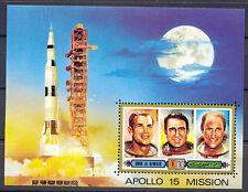 Raumfahrt, Space, Apollo - Umm al-Kaiwain - Bl.42 ** MNH 1972