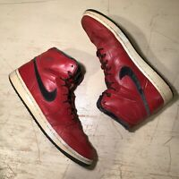 2008 Air Jordan 1 Retro High Premier Varsity Red/Dark Army Size 11.5 (NO BOX)