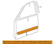 TOYOTA OEM 01-04 Sequoia FRONT DOOR-Body Side Molding Left 757320C040A0