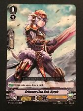 Cardfight Vanguard: Crimson Lion Cub, Kyrph V-EB03/049EN C - Gold Paladin