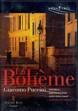 Giacomo Puccini La Boheme 2-disc DVD NEW Teatro Real Madrid Inva Mula Machado