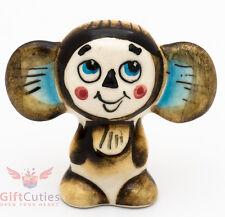 Gzhel Porcelain figurine Cheburashka Чебурашка Russian classic cartoon character