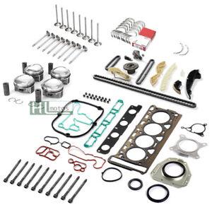 Engine Cylinder Overhaul Set Rebuild Kit Pistons for Audi VW Skoda 1.8 TFSI CDH