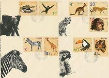 Poland FDC (Mi. 2162-70) Zoo animals #4