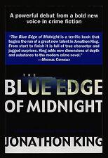 Jonathan King, The Blue Edge of Midnight, Dutton, 2002 - Proof - Edgar Winner