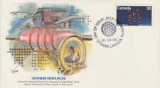 CANADA #865 35¢ URANIUM ON FLEETWOOD CACHET FIRST DAY COVER