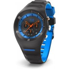 Orologio Uomo ICE WATCH LECLERCQ IC.014945 Chrono Silicone Nero Blu 100mt