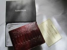 YARD-O-LED LEATHER WALLET BOXED  Rare!   New!