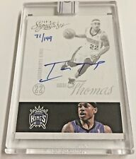 ISAIAH THOMAS 15-16 Panini Replay 2012-13 Panini Sigs On Card RC AUTO #d 71/149
