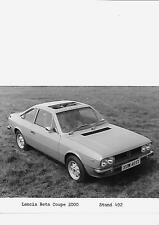 "LANCIA BETA Coupe 2000 ORIGINALE STAMPA FOTO ""T"" REG. ""BROCHURE"" correlati"