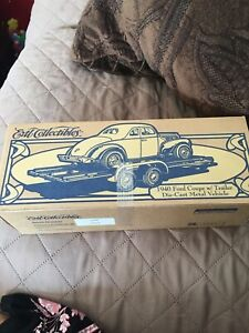 Ertl Collectibles 1940 NAPA Ford Coupe w/ Trailer 1:25 Scale Die Cast New N Box