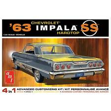 AMT 1/25 1963 Chevy Impala SS 2T