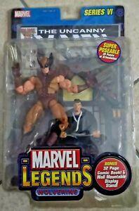 MARVEL LEGENDS SERIES VI WOLVERINE (+ fumetto Uncanny X-Men 213) action figure