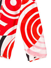NEW Hermes Asis Red Silk Scarf Shawl Birkin Kelly 140 cm
