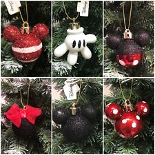 12 Disney Mickey Mouse Xmas  Baubles Decorations Hanging