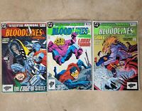 Man of Steel Annual 2 Action Comics Annual 5 Adv of Superman Annual 5 Bloodlines