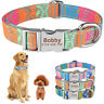 Quick Release Dog Collar Personalised Name ID Tag for Small Medium Large Dogs