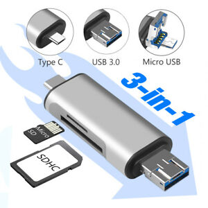SanFlash PRO USB 3.0 Card Reader Works for Samsung SM-J327PZSAVMU Adapter to Directly Read at 5Gbps Your MicroSDHC MicroSDXC Cards