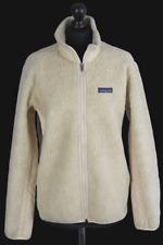 PATAGONIA Damen Teddy Fleecejacke -Cremeweiss-Full Zip Jacket-Sherpa   GR.L