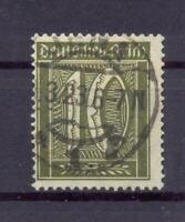 DR 178 Freimarke 10 Pfg. Wz Waffeln gestempelt KB Weinbuch (at95)