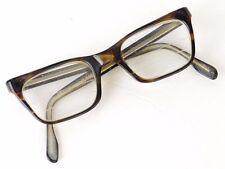 Vintage 1950s 60s Foremost 5 3/4 Brown Trifocal Lens Eyeglasses Glasses