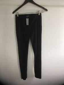 NWT Anthropologie Tahari 00P Black Leggings Pants $110