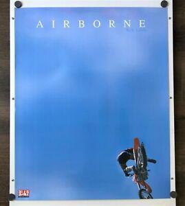 "Vintage Kyle Lewis Motocross Supercross YOSHIMURA ""AIRBORNE"" Poster Honda"