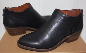 Lucky Brand Fai booties Black brewster leather New With Box