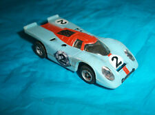 Afx slot car #1757 Porsche 917 baby blue
